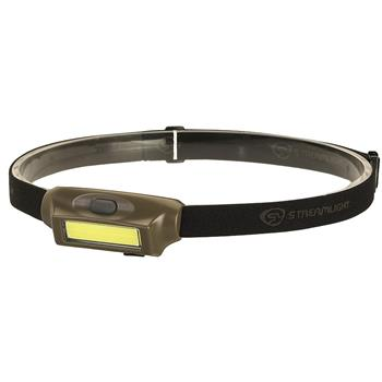 Coyote Streamlight Bandit® Rechargeable Headlamp with White/Green LEDs