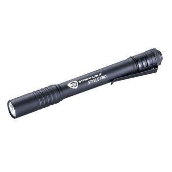 Black Streamlight Stylus Pro Penlight Flashlight