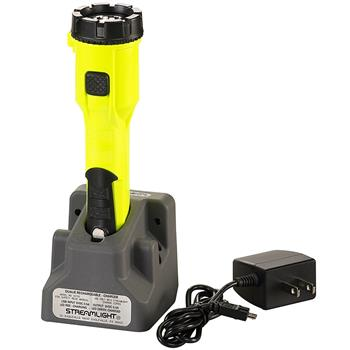 Yellow Streamlight Dualie® Rechargeable LED Flashlight with magnetic clip