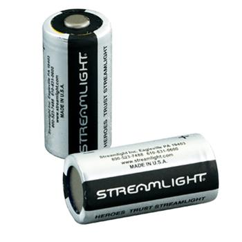Streamlight 2 Pack of CR123 Lithium batteries