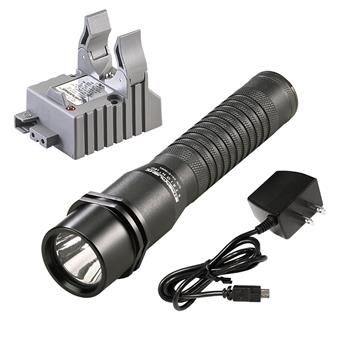 Streamlight Strion LED Rechargeable Flashlight with AC charge cord and one base
