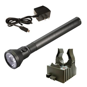Streamlight UltraStinger LED Flashlight with AC charge cord and one base